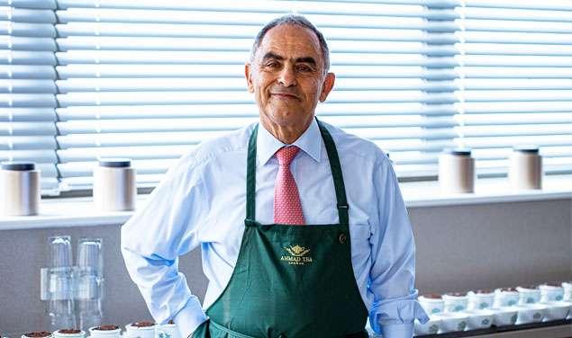 آقای رحیم افشار، مدیرکل دفتر لندن چای احمد