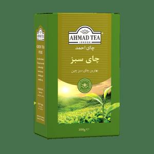 چای سبز خالص احمد