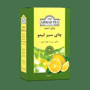چای سبز لیمو احمد